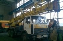 Автокран 32т, КС-55730